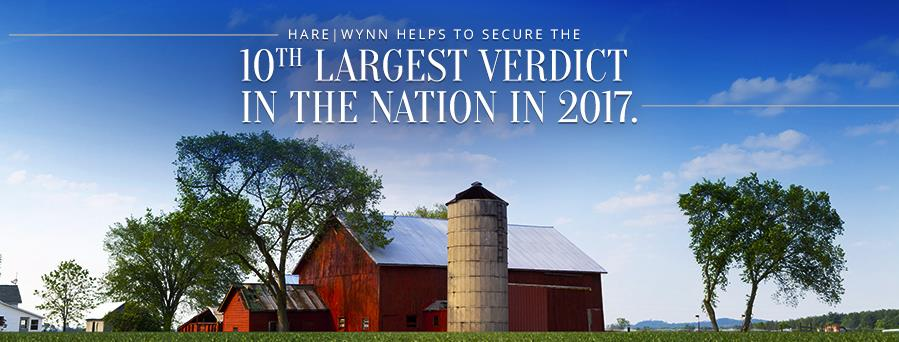 Hare Wynn Recognized in Nation's 2017 Top 100 Verdicts List 1