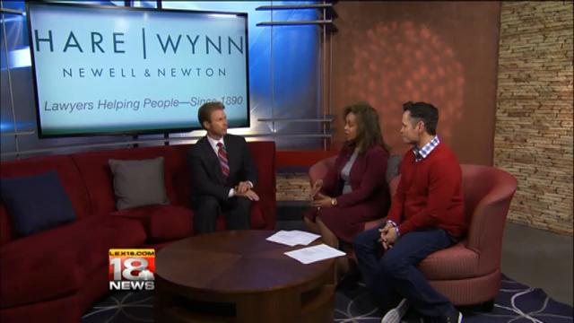WLEX-18 Interview with Hare Wynn attorney Matt Minner 11