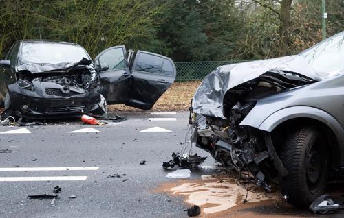 Multi-car accident in Gardendale, AL