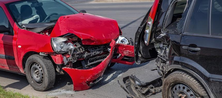 A multi car accident in Kellerman, AL
