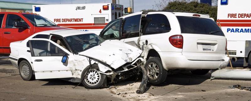This image shows a muti-car crash in Moody, AL